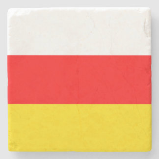 South Ossetia Flag Stone Coaster