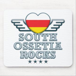 South Ossetia Rocks v2 Mouse Pad