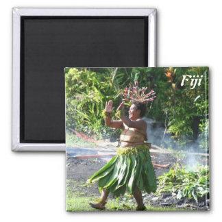 South Pacific Fire Walk Dance Magnet