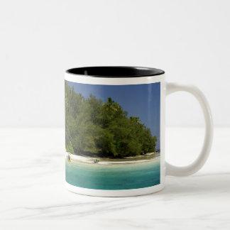South Pacific, French Polynesia, Moorea Two-Tone Coffee Mug
