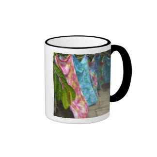 South Pacific, French Polynesia, Society Ringer Coffee Mug