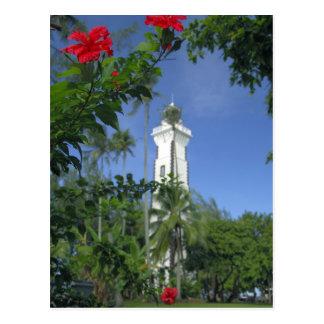 South Pacific, French Polynesia,Tahiti. Hibiscus 2 Postcard