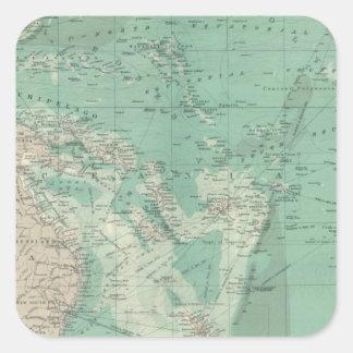 South Pacific Ocean Square Sticker