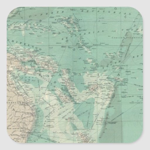 South Pacific Ocean Stickers