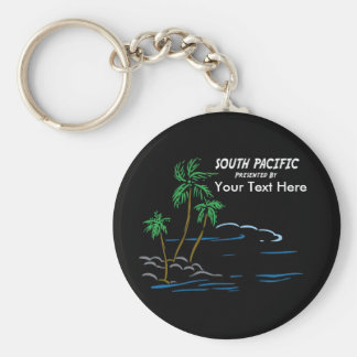 South Pacific, The Musical Basic Round Button Keychain