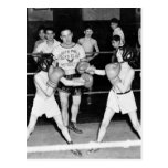 South Philly Boys Club Boxing, 1940s Postcard