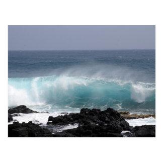 South Point Wave, Hawaii Postcard