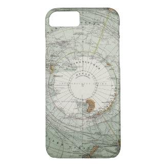 South Polar Region Map iPhone 7 Case