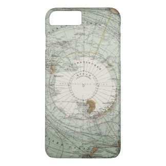 South Polar Region Map iPhone 7 Plus Case