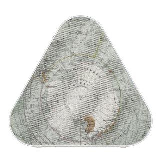 South Polar Region Map Speaker