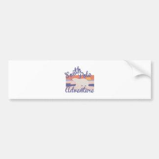 South Pole Adventure Bumper Sticker