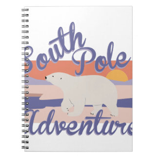South Pole Adventure Note Book