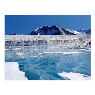 South Pole - Antartica Postcard