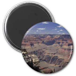 South Rim Of The Grand Canyon In Arizona 2 Inch Round Magnet