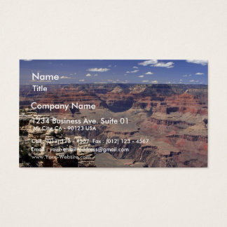 South Rim Of The Grand Canyon In Arizona Business Card