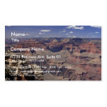 South Rim Of The Grand Canyon In Arizona Pack Of Standard Business Cards