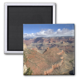 South Rim view of the Grand Canyon, Arizona, Square Magnet