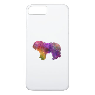 South Russian Shepherd Dog in watercolor iPhone 7 Plus Case