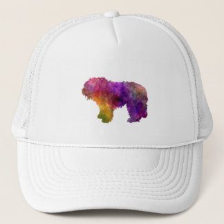 South Russian Shepherd Dog in watercolor Trucker Hat