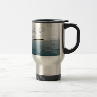 South Sea Island, Fiji Travel Mug