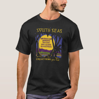 South Seas (Front and Back) T-Shirt