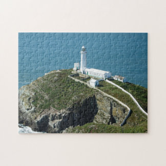 South Stack Light House Wales Jigsaw Puzzle