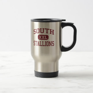 South - Stallions - Middle - Morgantown Travel Mug
