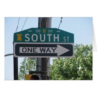 South Street - Philadelphia Card