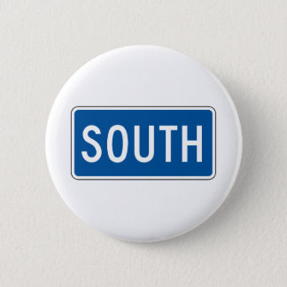 South Street Sign 2 Inch Round Button