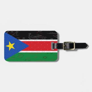 South Sudan Flag Luggage Tag