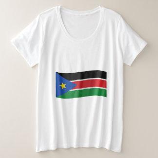 South Sudan Flag Plus Size T-Shirt