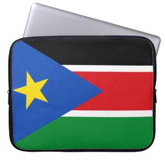 South Sudan National World Flag Computer Sleeves