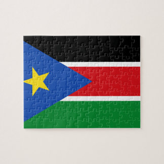 South Sudan National World Flag Jigsaw Puzzle
