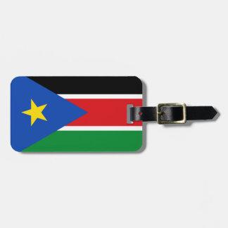 South Sudan National World Flag Luggage Tag