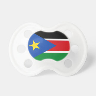 South Sudan National World Flag Pacifier
