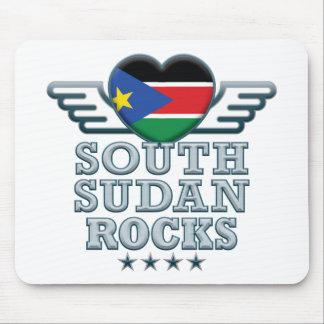 South Sudan Rocks v2 Mouse Pad