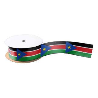 South Sudanese flag ribbon Satin Ribbon