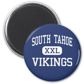 South Tahoe - Vikings - High - South Lake Tahoe Magnet