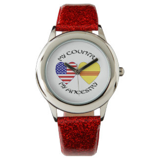 South Vietnam USA Country Ancestry Watch