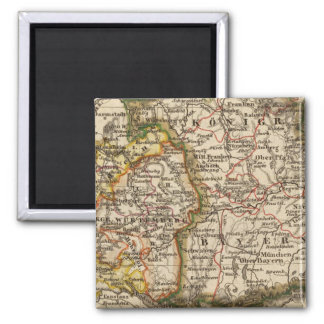 South West Germany Refrigerator Magnet
