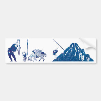 South Wind Clear Sky Bumper Sticker