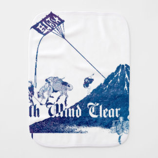 South Wind Clear Sky Burp Cloth