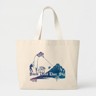 South Wind Clear Sky Large Tote Bag