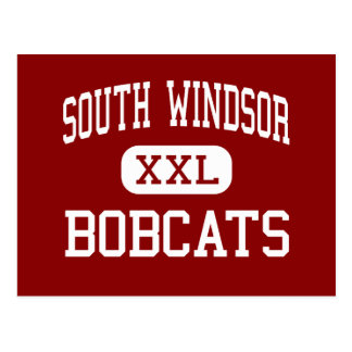 South Windsor - Bobcats - High - South Windsor Postcard