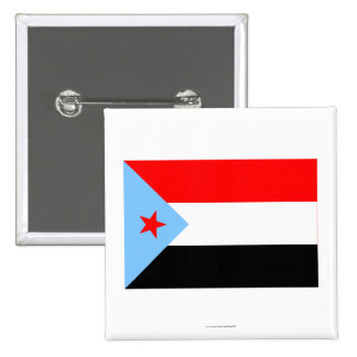 South Yemen Flag (1967-1990) 2 Inch Square Button