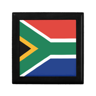 Southafrican flag jewelry box