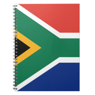 Southafrican flag notebook