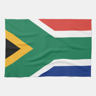 Southafrican flag towel