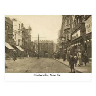 Southampton, above Bar Postcard