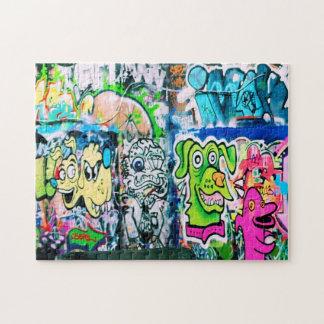 Southbank Graffiti - London Puzzle